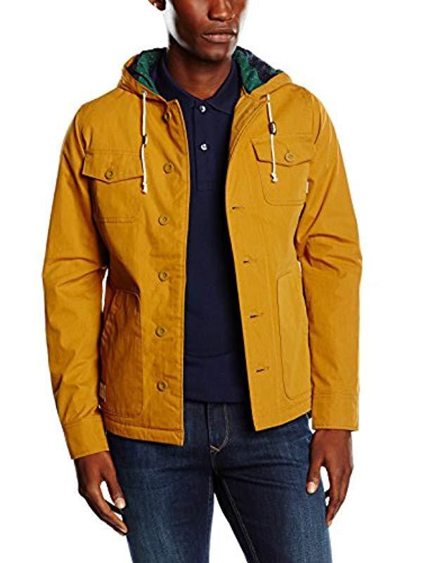 0f29be98ce5136 Vans M Lismore Deluxe Black Iris Long Sleeve Jacket in Brown for Men ...