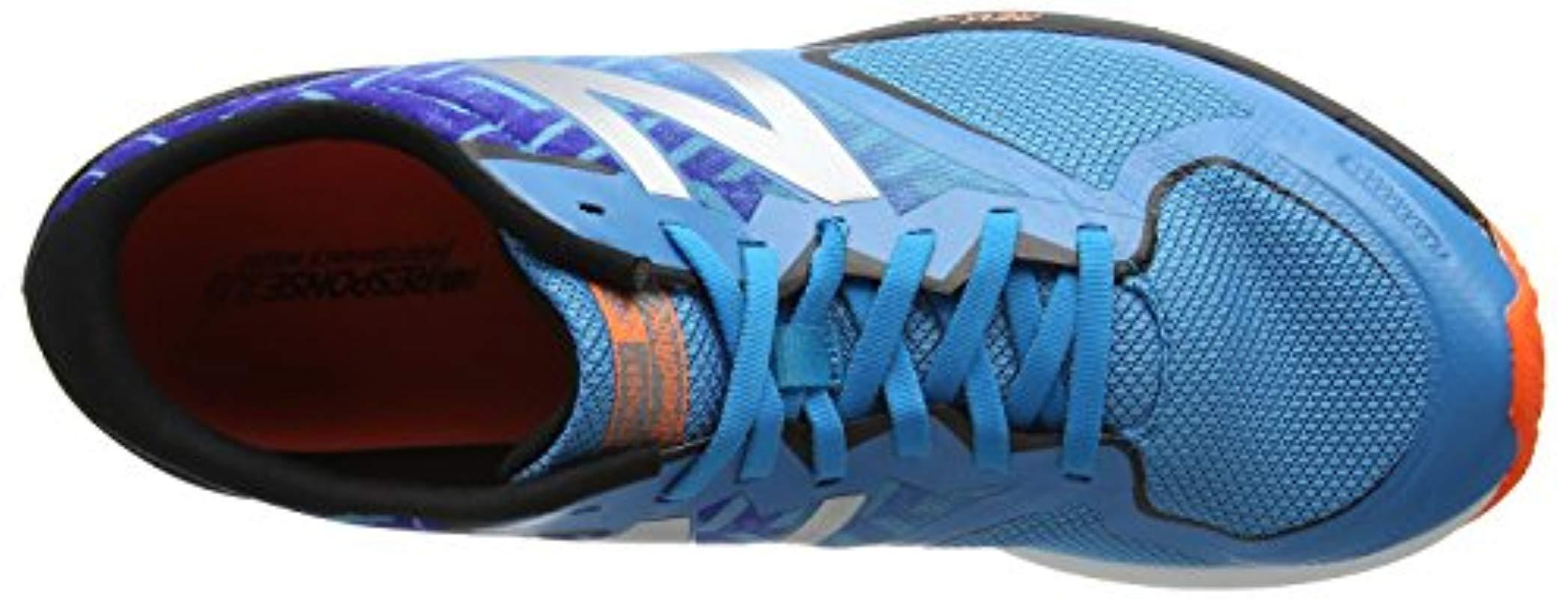 Temblar incrementar defecto  New Balance Synthetic Strobe V2 Running Shoes in Blue Blue Black (Blue) for  Men - Lyst
