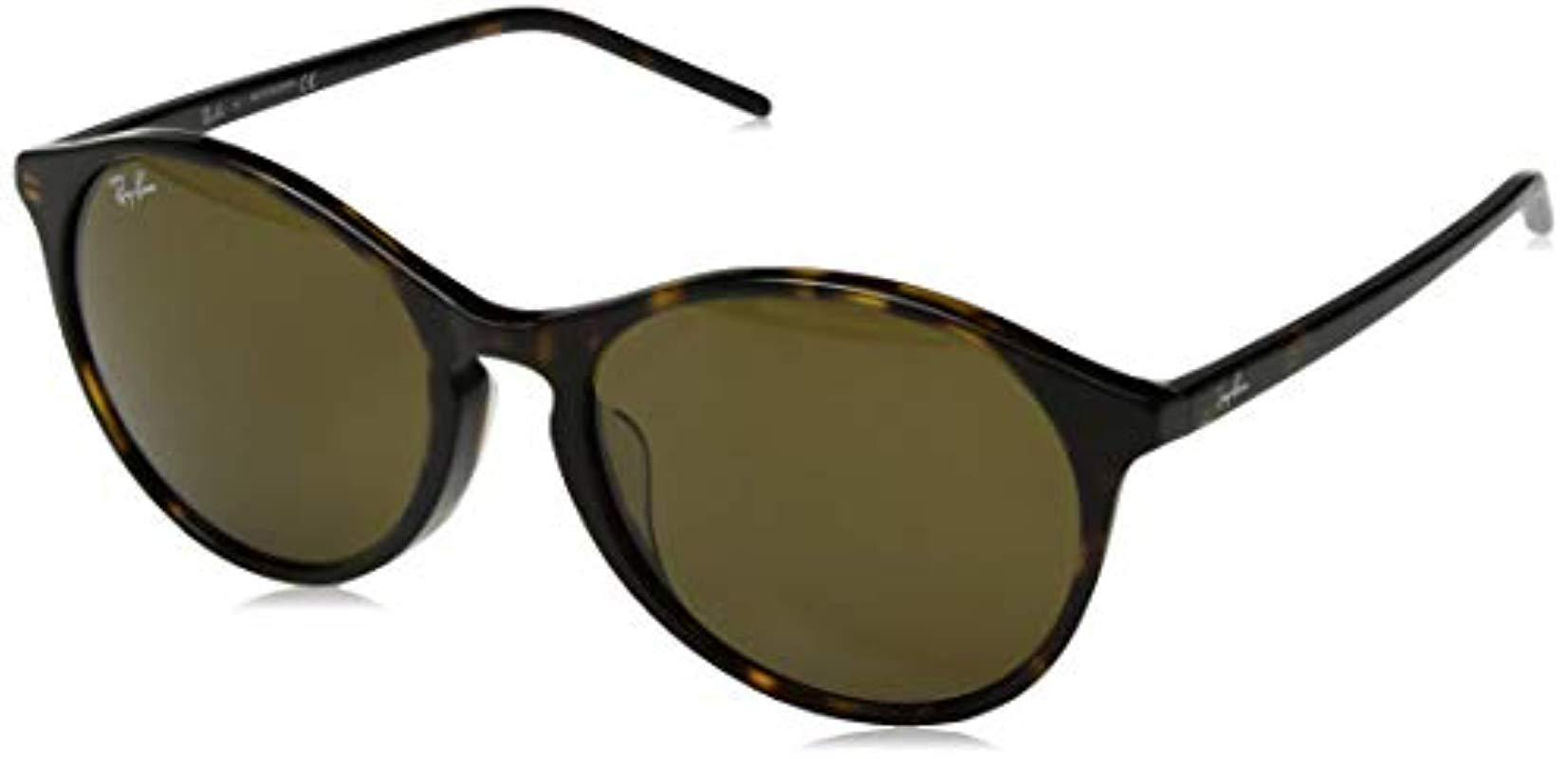 9db84db8a8a Lyst - Ray-Ban Rb4371f Sunglasses in Green - Save 20%