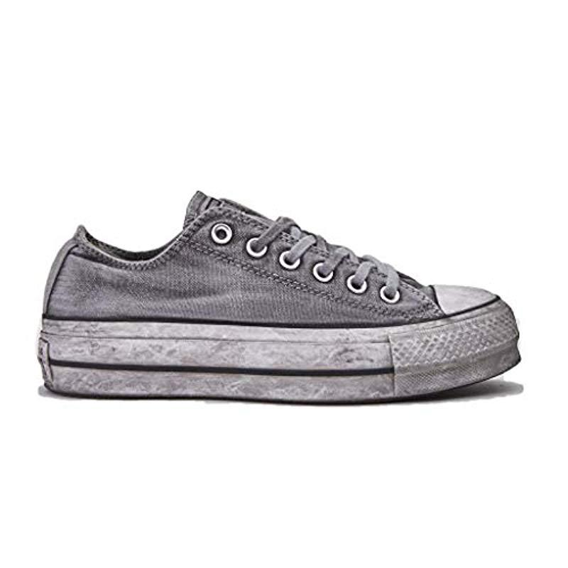 all star converse grigio
