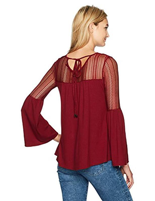 b5a5270900c91 Desigual Ts neusifu T-shirt in Red - Lyst