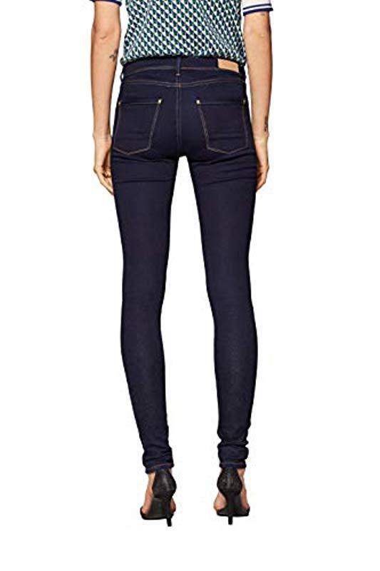029EE1B009 Jean Skinny - Bleu (BLUE RINSE 900) - W26/L34 en Jean Esprit