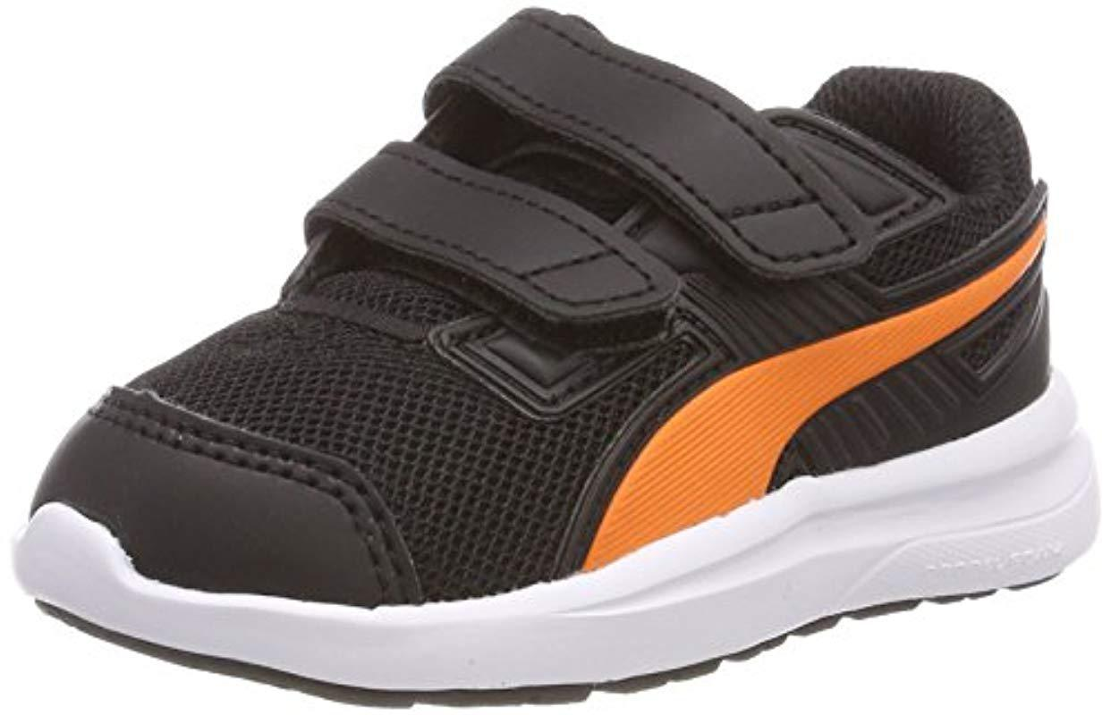 45f57eb5afed61 Puma Unisex Babies  Escaper Mesh V Inf Trainers in Black for Men - Lyst