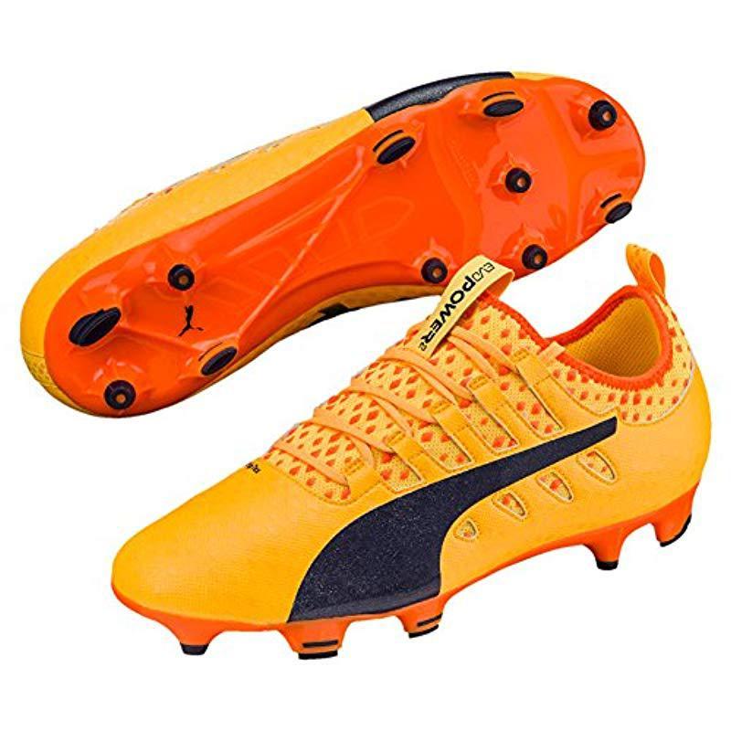 3e296b342fd Puma Evopower Vigor 2 Fg Football Boots in Orange for Men - Lyst