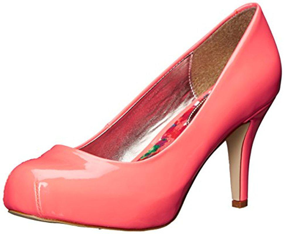 7ce4b45e8da Lyst - Madden Girl Getta Pump in Pink