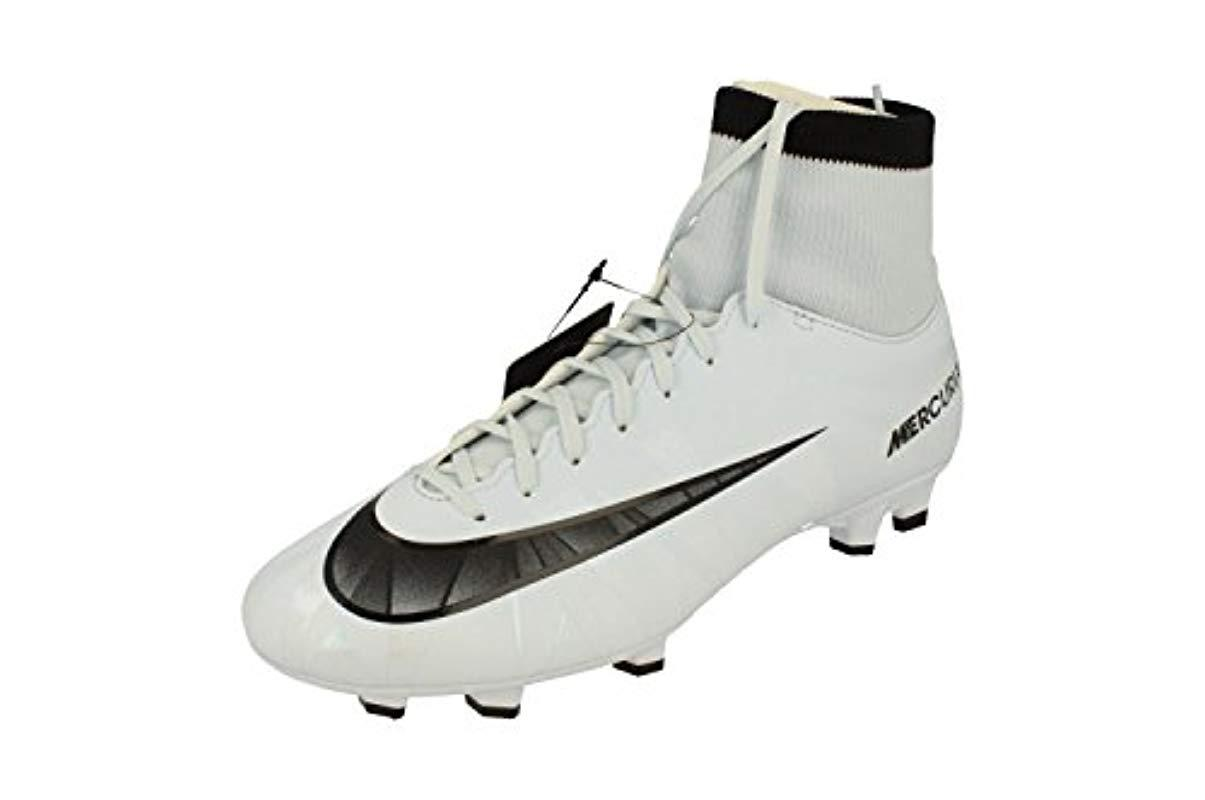 1e989600a545 Nike Mercurial Victory Vi Cr7 Df Fg Football Boots in White for Men ...