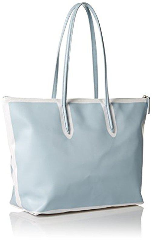 7b4ac6587 Lyst - Lacoste Large Shopping Bag