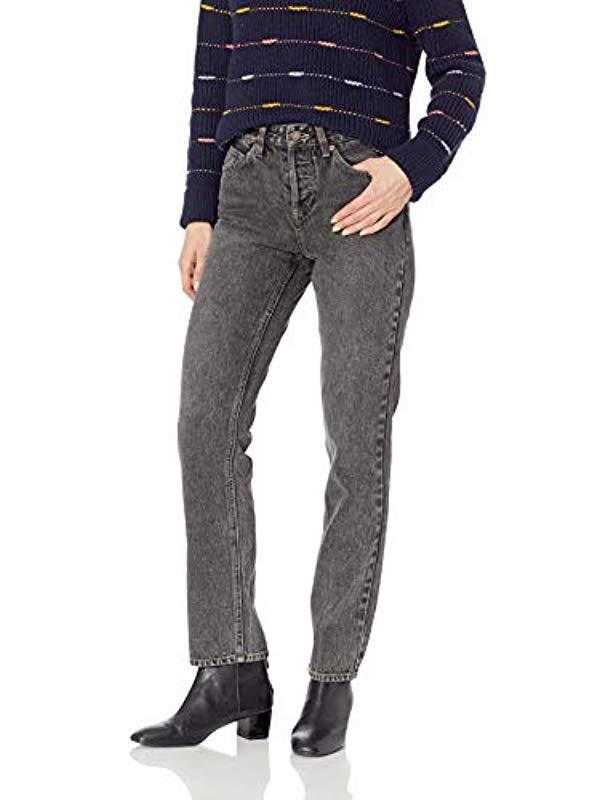 04f76894fd4 Lyst - Volcom Stoney Modern Boyfriend Denim Jean in Black - Save 41%