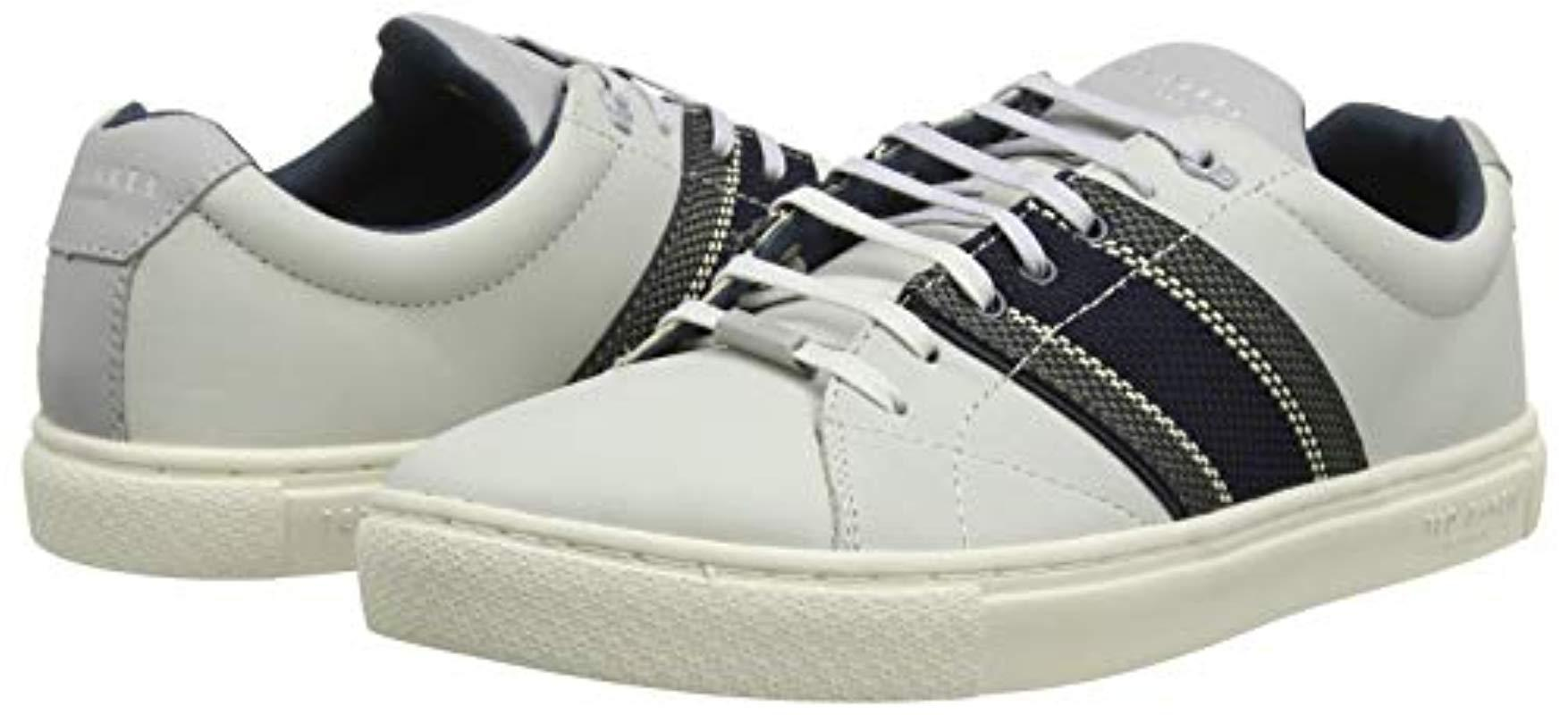 Ted Baker Peppah Trainers in White for
