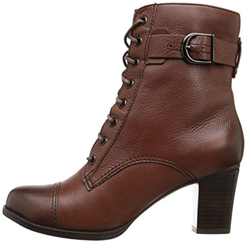 Clarks Leather S Jolissa Gypsum Jolissa Gypsum in Brown