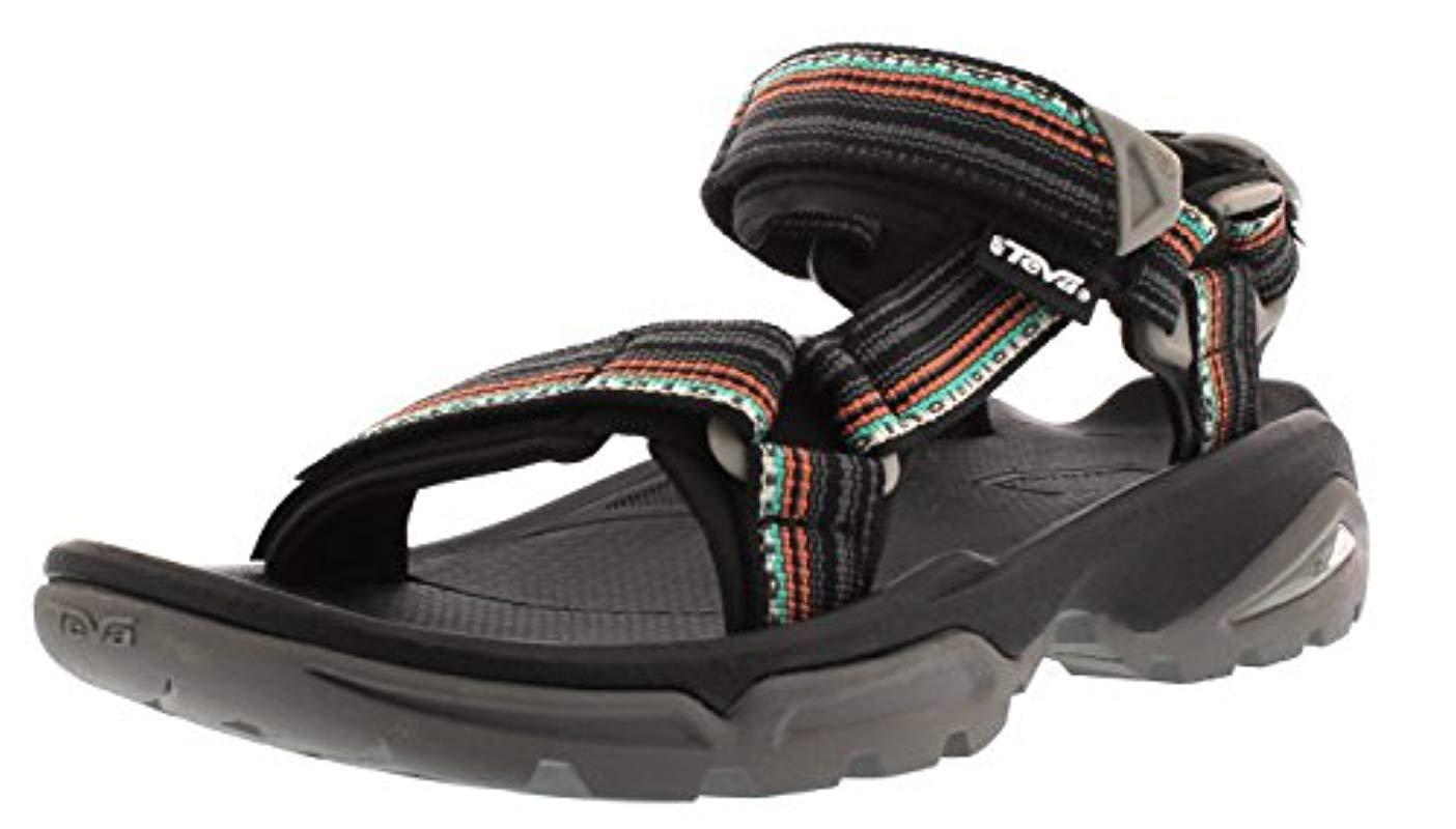 9860c62f3d987 Teva Terra Fi 4 Sports And Outdoor Hiking Sandal in Black - Lyst
