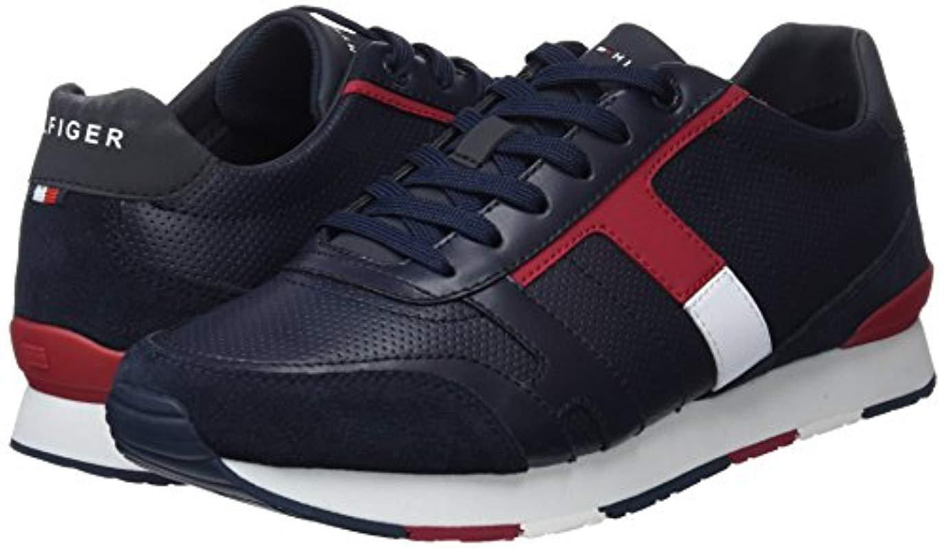 Tommy Hilfiger Corporate Leather Mix