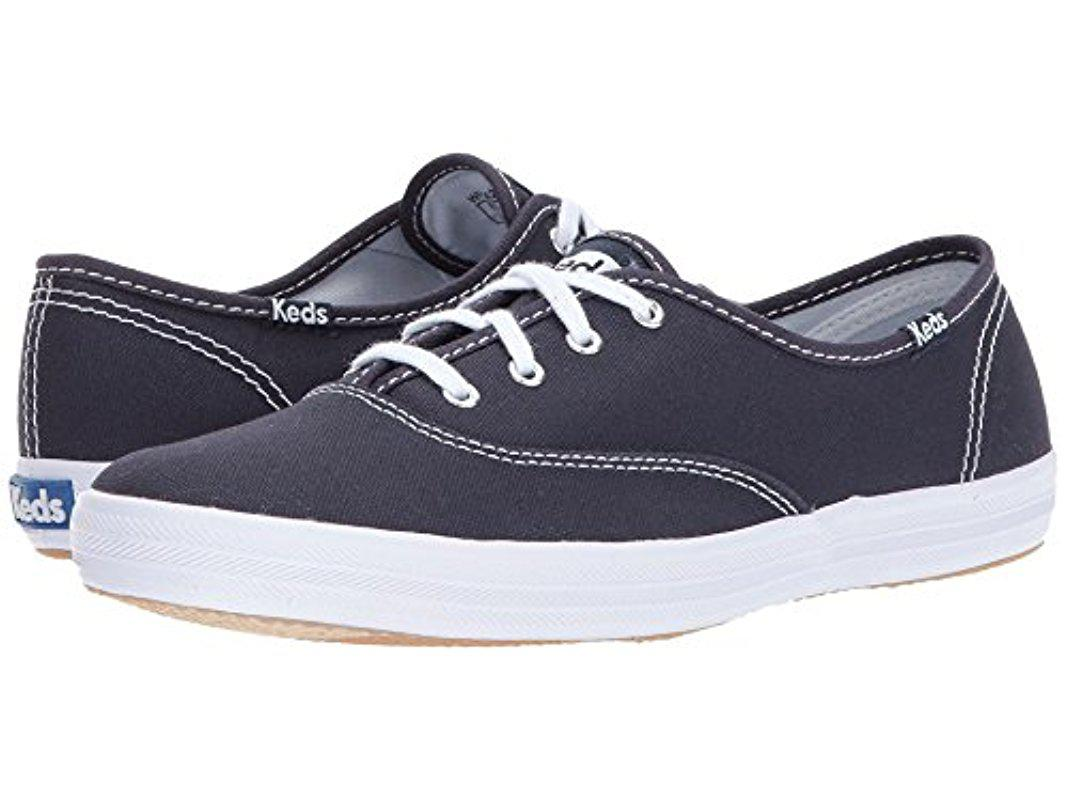 6f8a93eac51 Keds - Blue Champion Original Canvas Sneaker - Lyst. View fullscreen