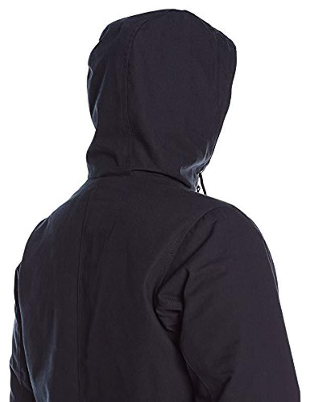 Columbia Loma Vista Fleece-lined Hooded Jacket in Black for Men