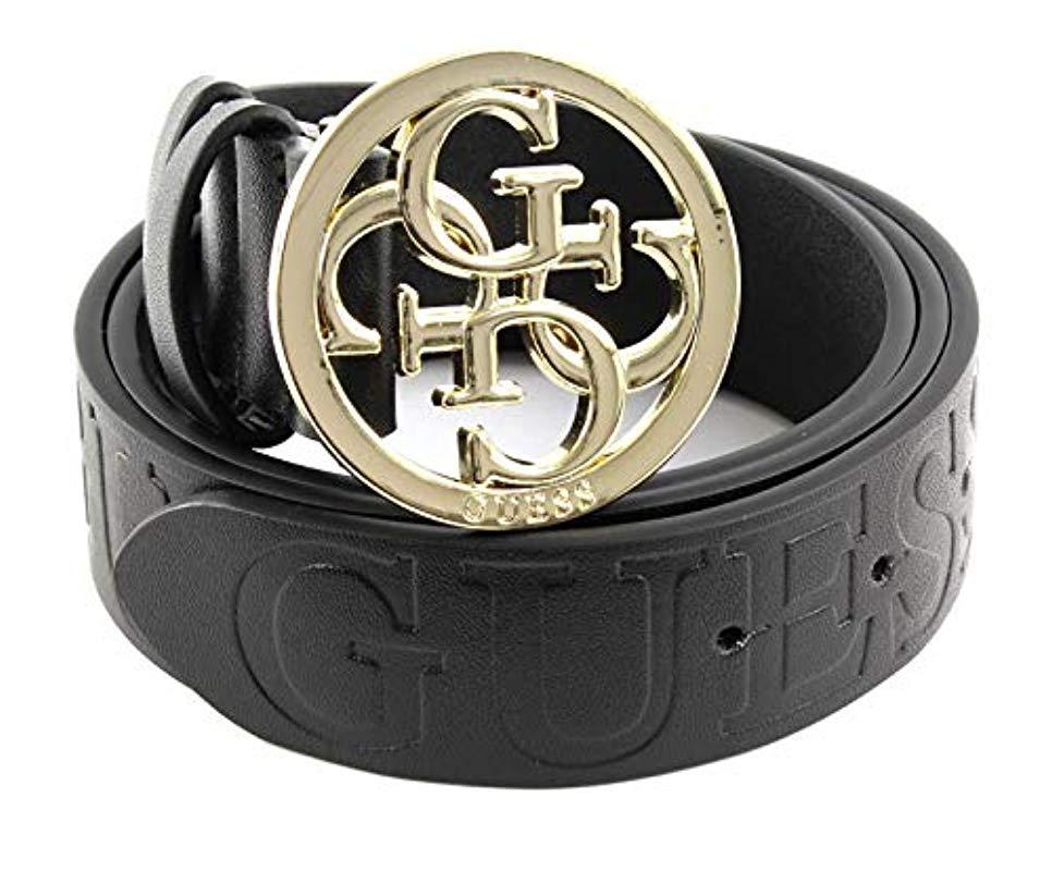 Guess Logo Buckle Belt Cintura Donna