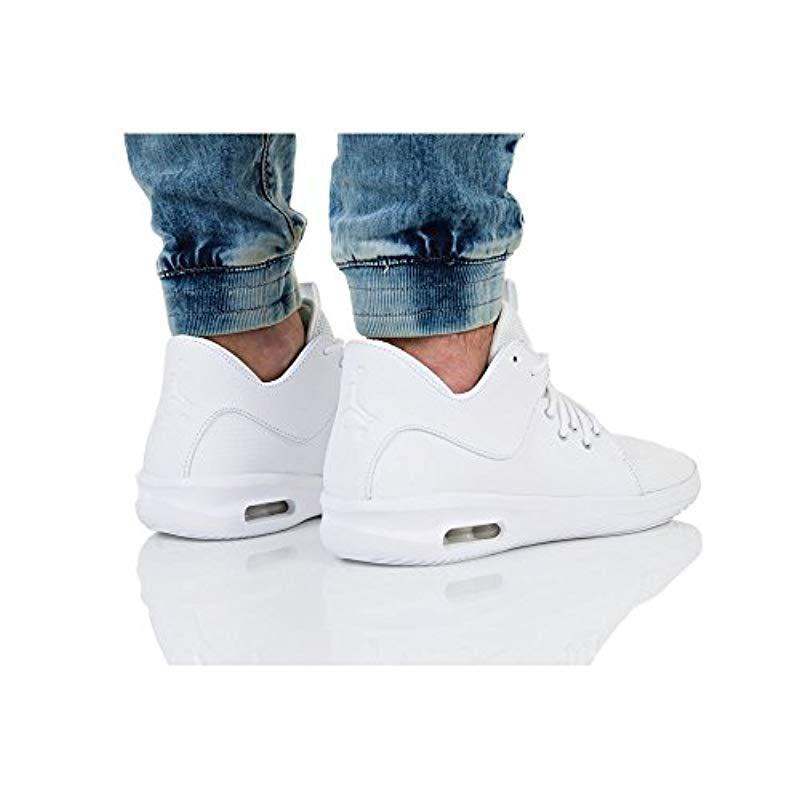 adjetivo Fundir Preciso  Nike Air Jordan First Class Mens Basketball Trainers AJ7312 Sneakers Shoes  UK 7.5 US 8.5 EU 42, White White 100 Men Shoes