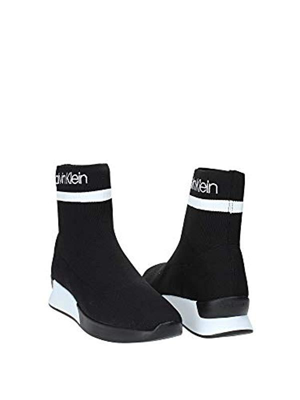 Calvin Klein Quan Stretch Knit Sneakers