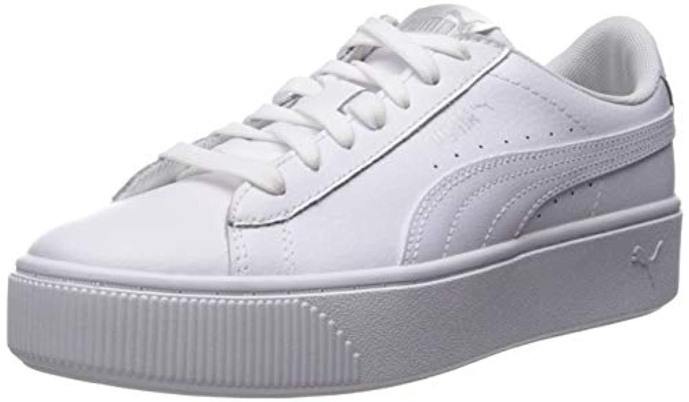 PUMA Rubber Vikky Stacked Sneaker in