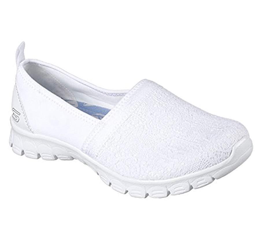 5d9a2d0547df Skechers Ez Flex 3.0-quick Escapade Slip On Sneakers in White - Save ...