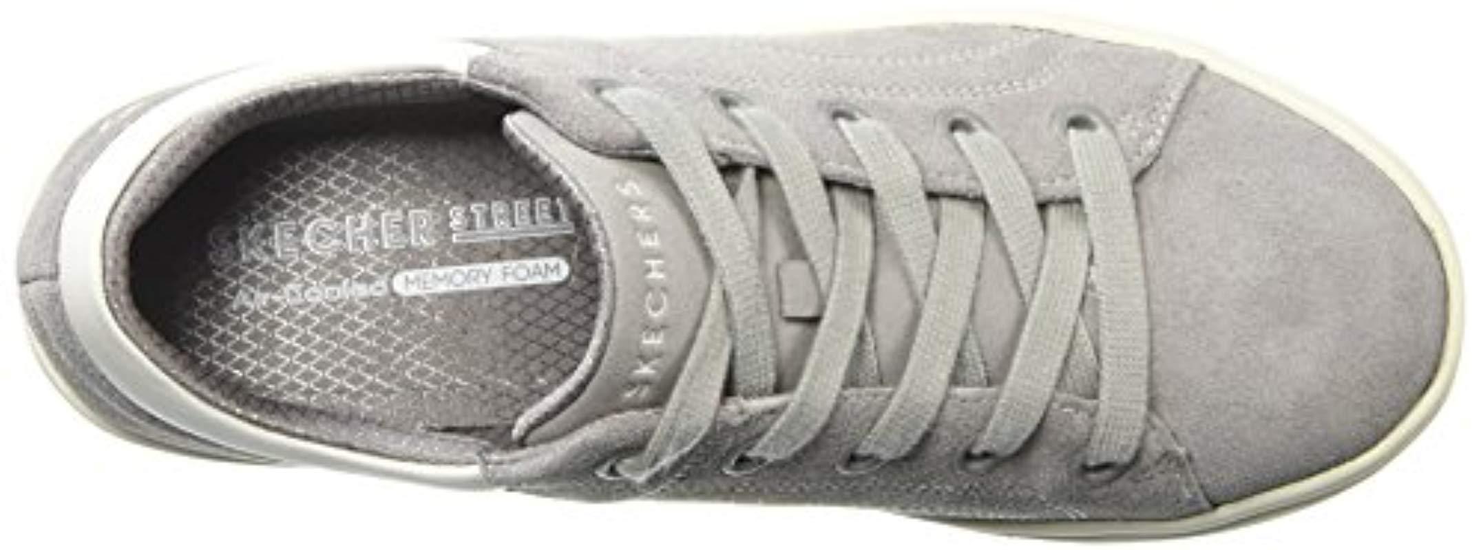Skechers Suede Sports Shoes in Grey (Grey)