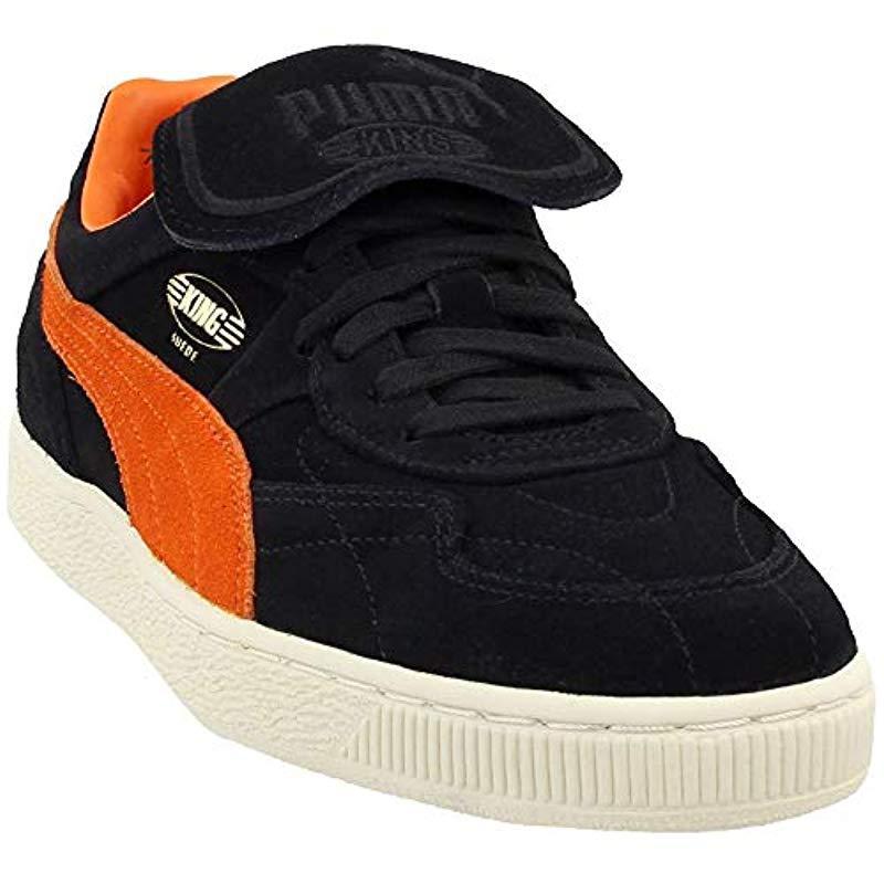 PUMA King Suede Legends Sneaker in