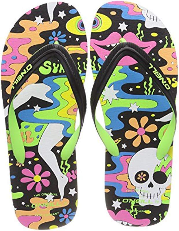 cfbc5a022 O Neill Sportswear Fm Profile Pattern Flip Flops for Men - Lyst