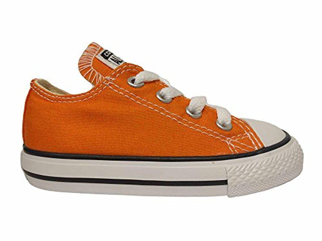 34f32d9bcd62 Lyst - Converse Kids  Ctas Ox-k in Orange for Men
