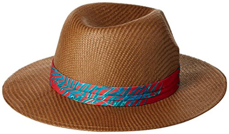 29f3591fda6 Lyst - Roxy Junior s Here We Go Straw Panama Hat in Brown