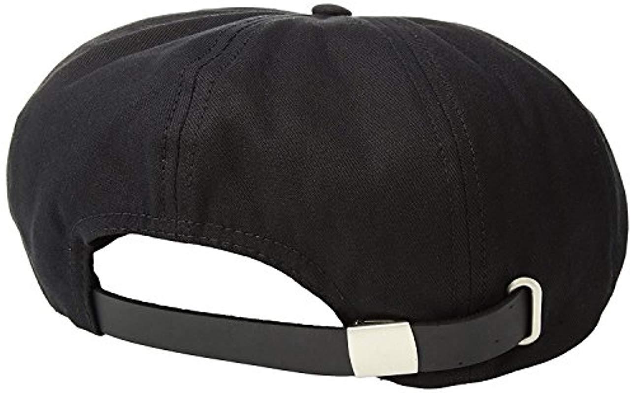 Lyst - Brixton Brood Adjustable Snap Cap (black) Caps in Black for ... 1cb599697791