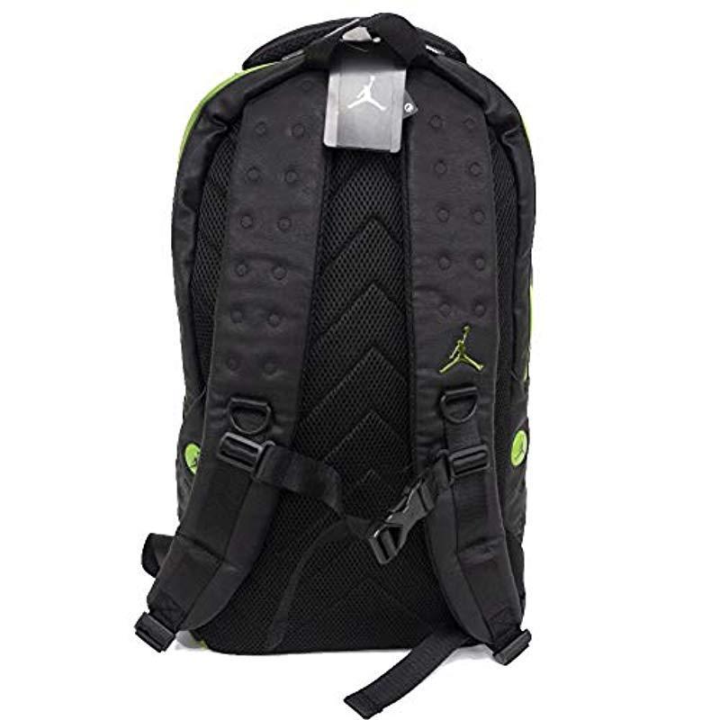 huge discount 52bd5 dac84 Nike Air Jordan Retro 13 Backpack (one Size, White/purple ...