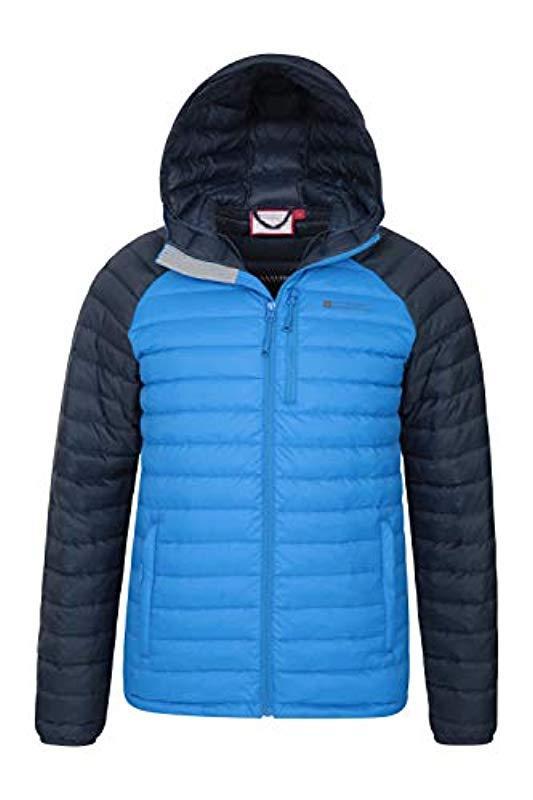 Manteau résistant à l'eau, Chaud, Confortable, Blouson d'hiver isolé, Bomber - pour Temps Mountain Warehouse pour homme en coloris Bleu  RJWxj