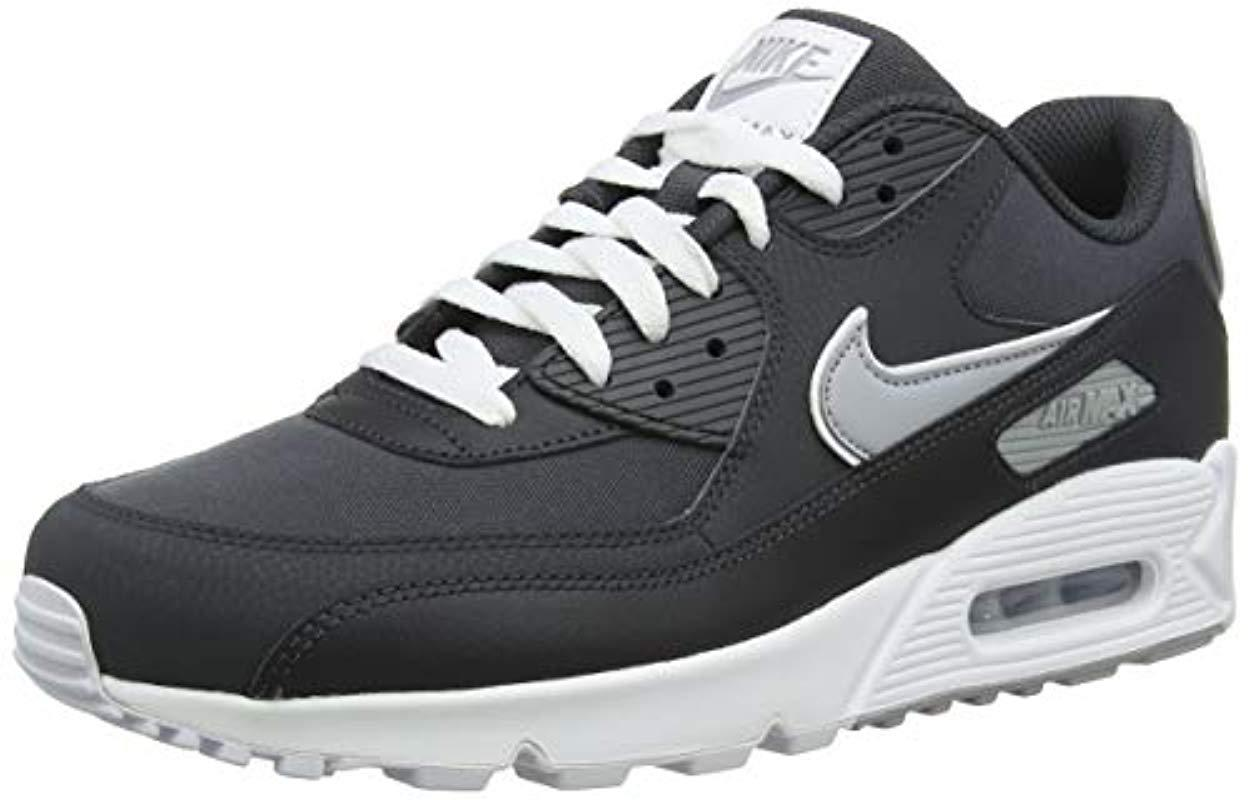e2e3bede0084f Nike Air Max 90 Essential Gymnastics Shoes in Gray for Men - Save 32 ...