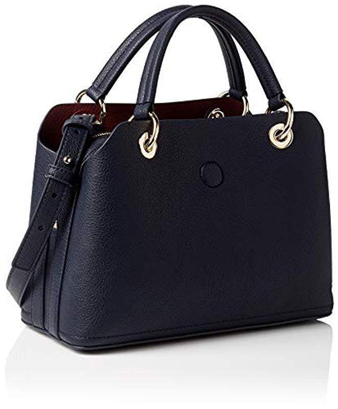 44505d83ea Tommy Hilfiger Th Core Med Satchel Bag in Blue - Lyst