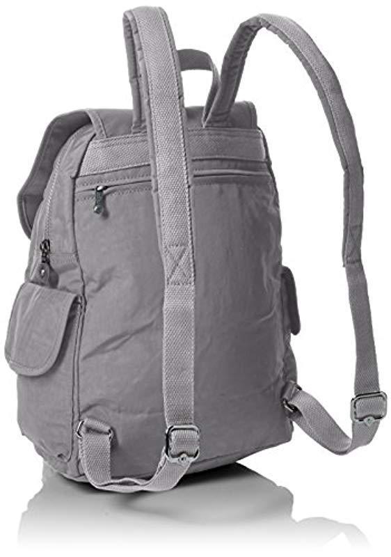Kipling Synthetic Citypack Backpack (cloud Grey Metallic) Backpack Bags in Grey