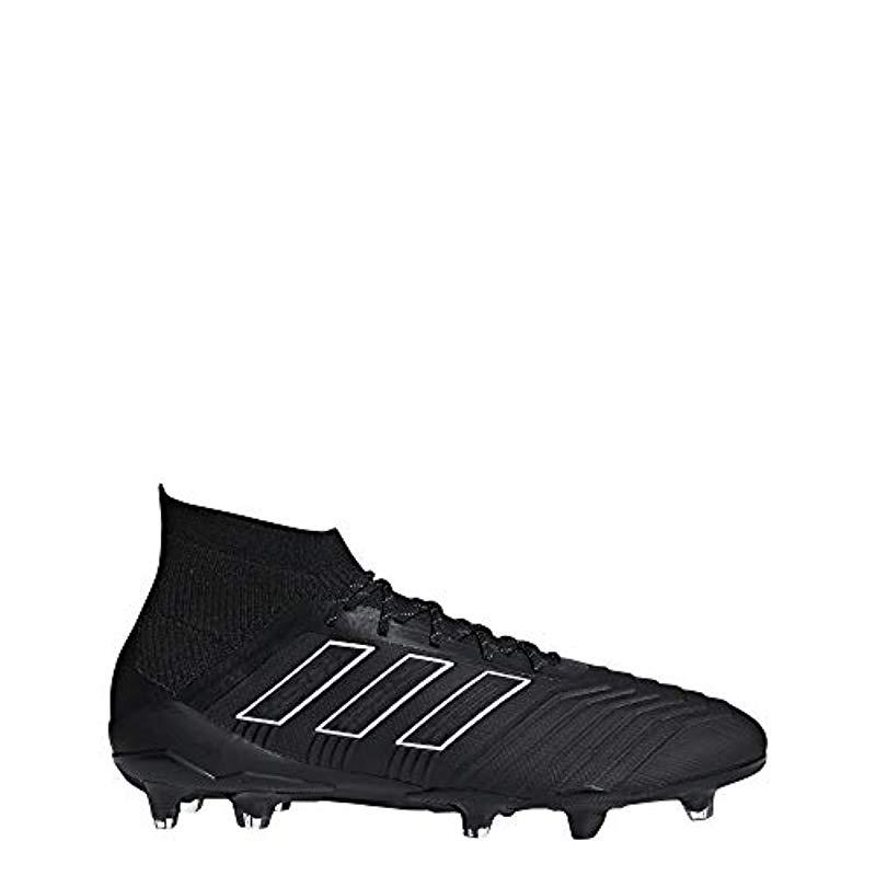 6024a6742659 adidas Predator 18.1 Fg Football Boots Yellow in Black for Men - Lyst