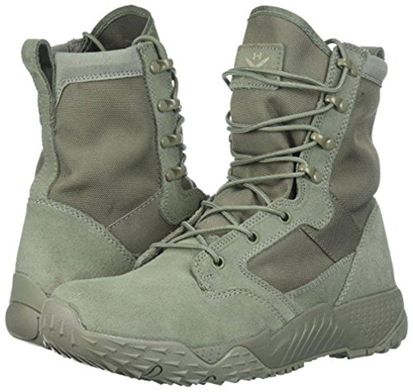 Buenos precios zapatos elegantes el precio más bajo Under Armour Leather Jungle Rat Military And Tactical Boot in Sage ...