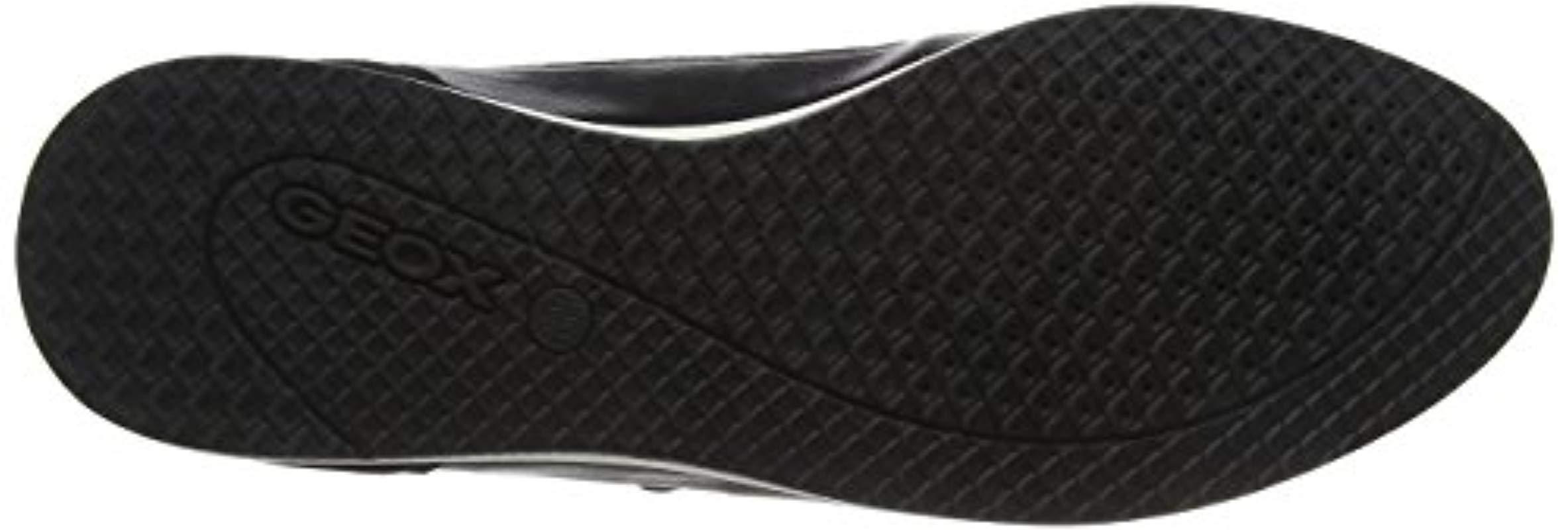 D Avery A, Zapatillas para Mujer Geox de color Negro