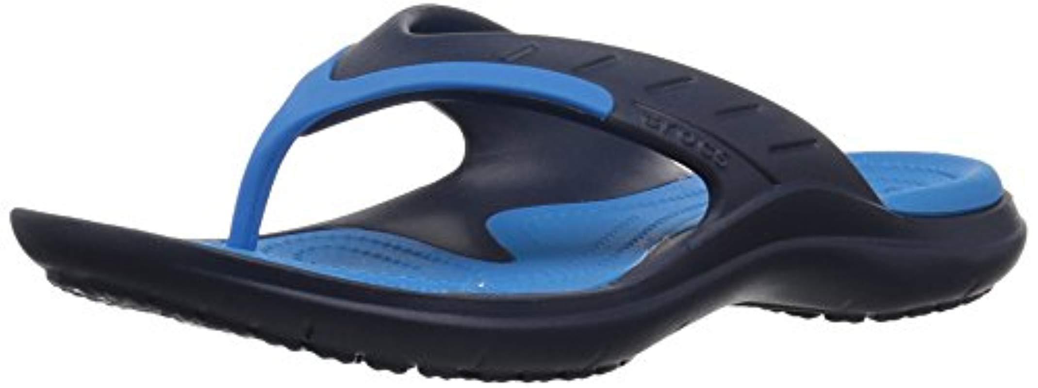 fd7f2c886 Crocs™. Blue Unisex Modi Sport Flip Flops