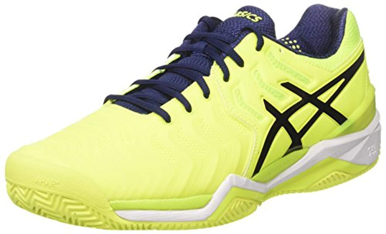 Asics Gel-resolution 7 Clay Tennis Shoes in Yellow for Men - Save ... 6e2cbf58b7b