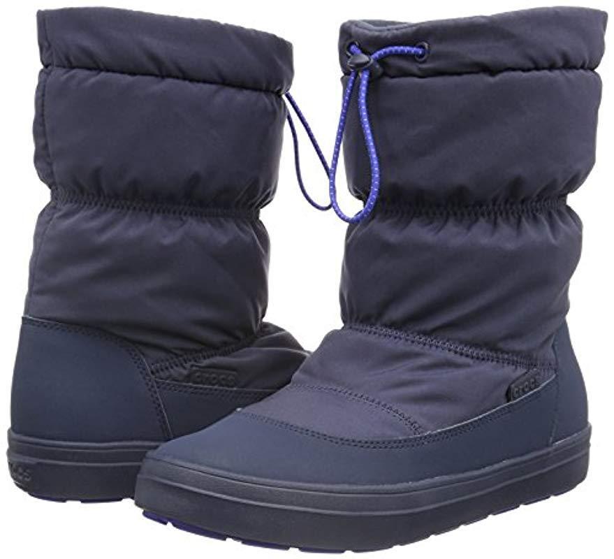LdgePtPullonBtW, Botines para Mujer Crocs�?de color Azul