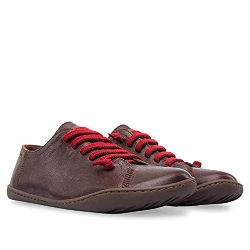 Peu Cami 20848, Zapatillas para Mujer Camper de Cuero