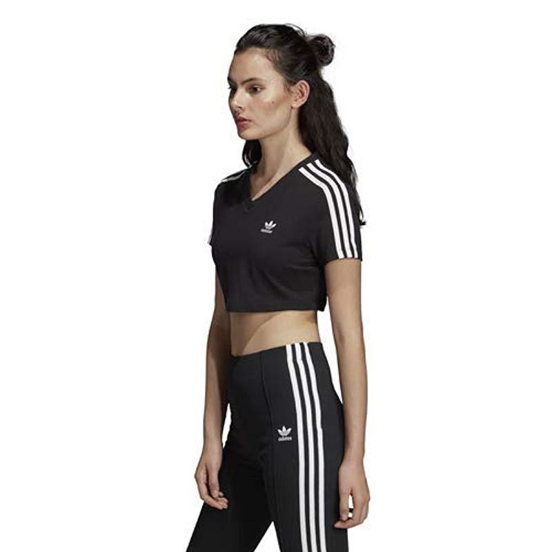 cropped tee adidas