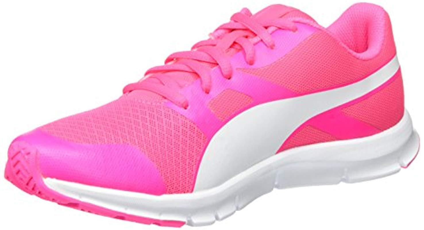 5825b682606eb5 PUMA Unisex Adults Flexracer Low-top Sneakers in Pink - Lyst