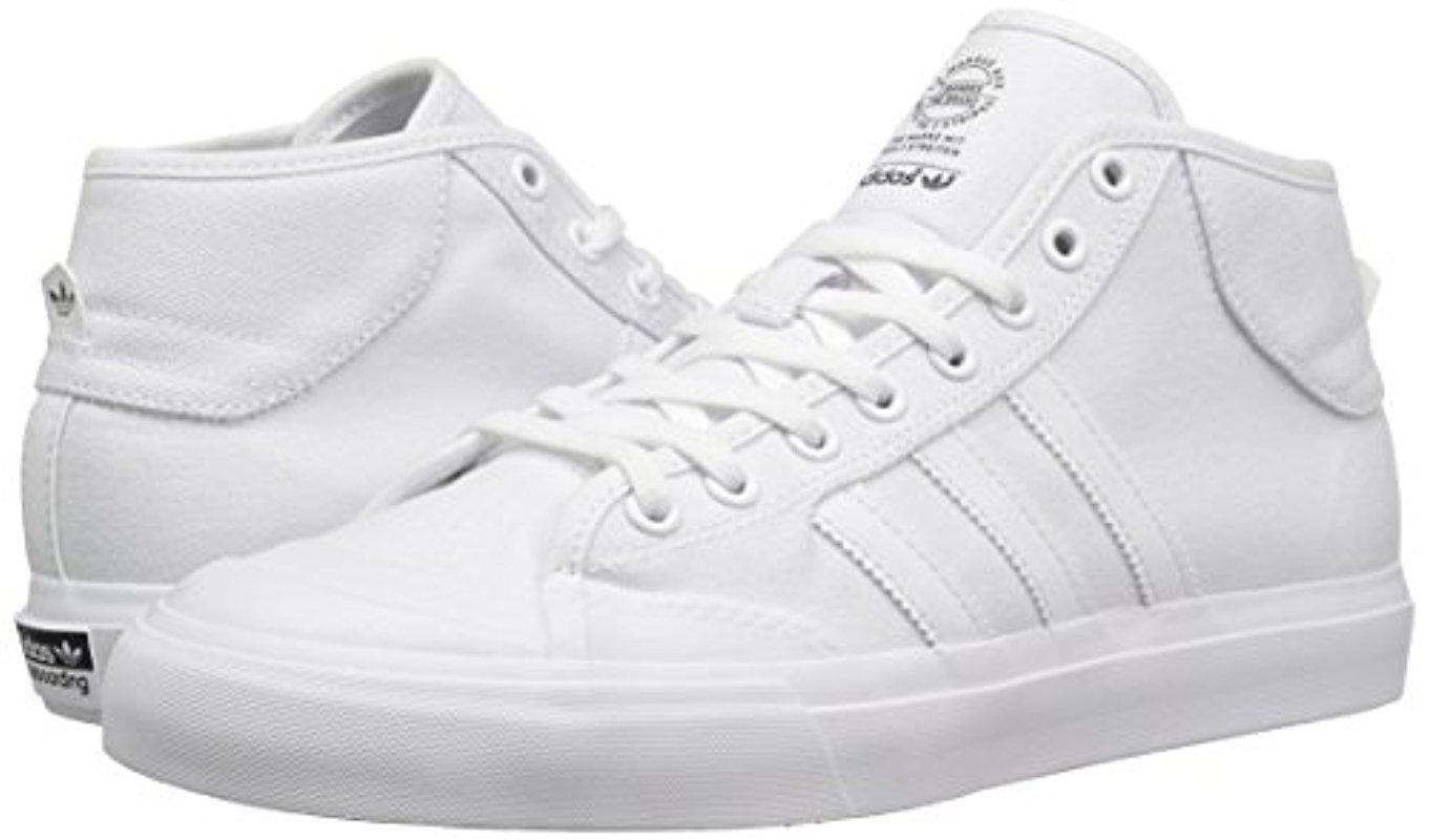adidas Rubber Matchcourt Mid Skate Shoe