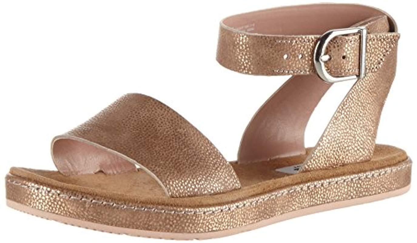 350f7681b1 Clarks Tri Nyla Wedge Heels Sandals - Lyst