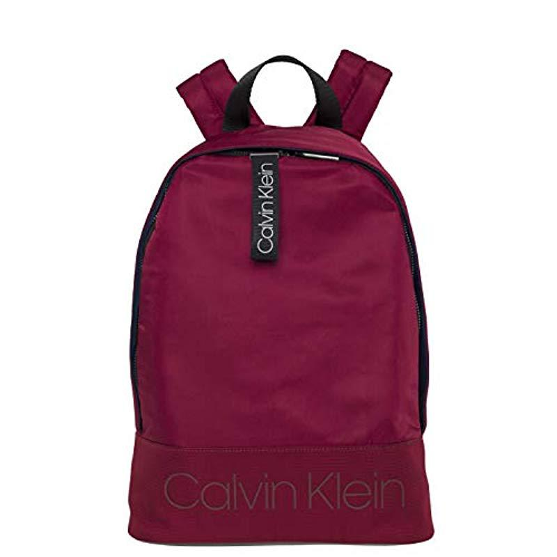 Mochilas Hombre Shadow Round Backpack Rojo 8wX0OPNnk