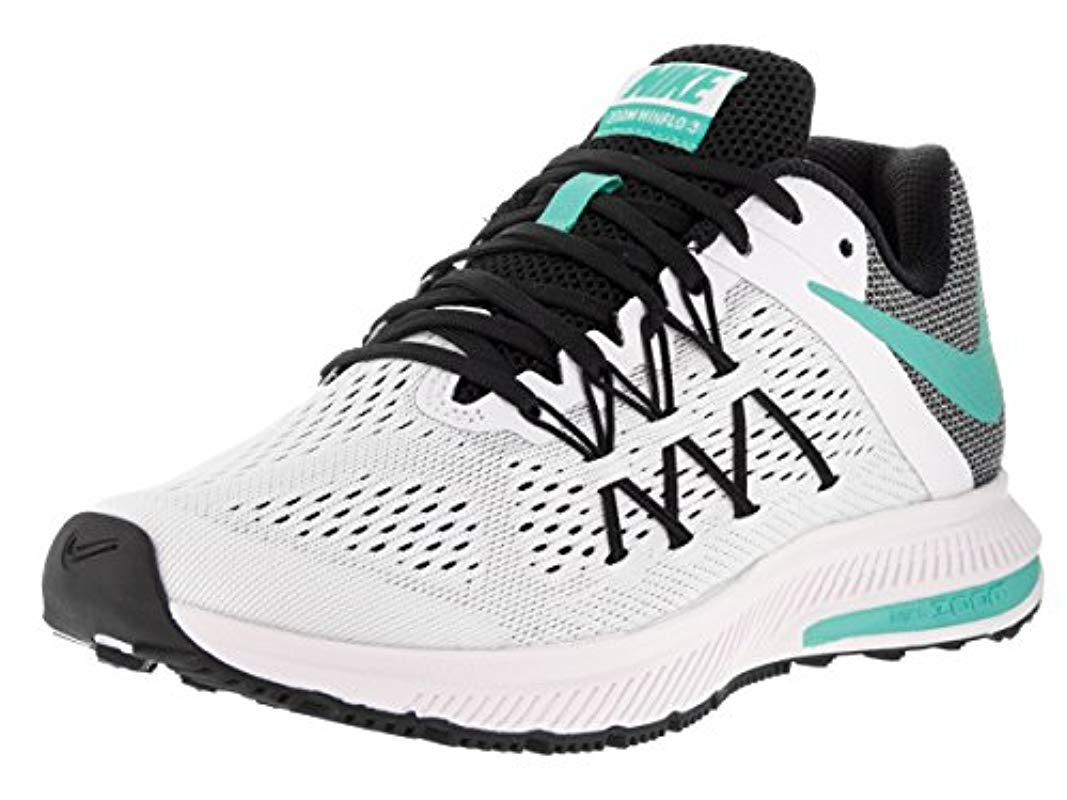 fd07b71f5d463 Nike 's Wmns Zoom Winflo 3 Running Shoes, Multicoloured in White - Lyst