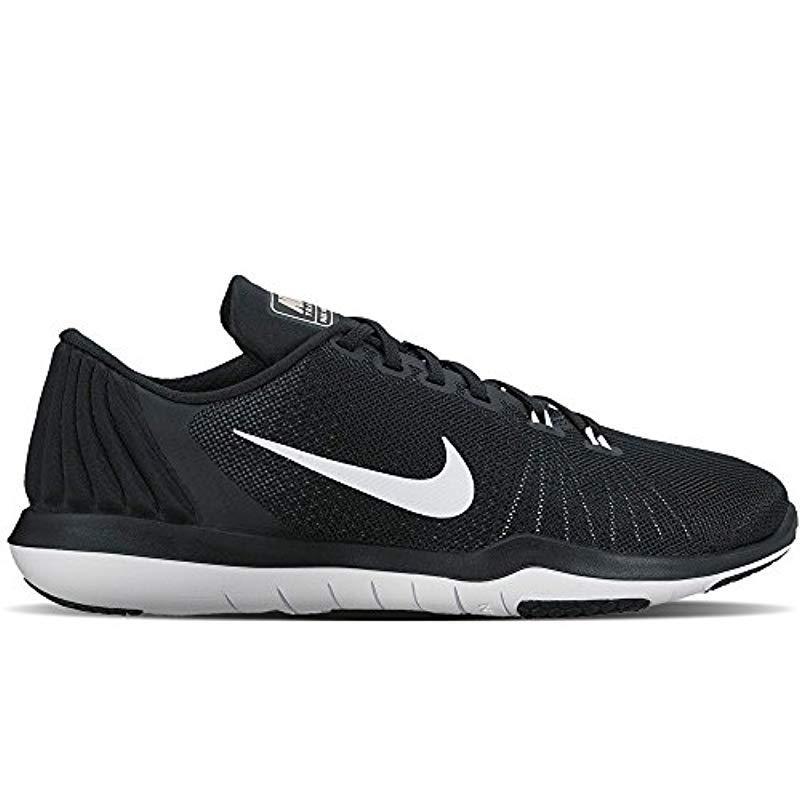 69d5f703c638 Nike   s Wmns Flex Supreme Tr 5 Sneakers in Black - Lyst