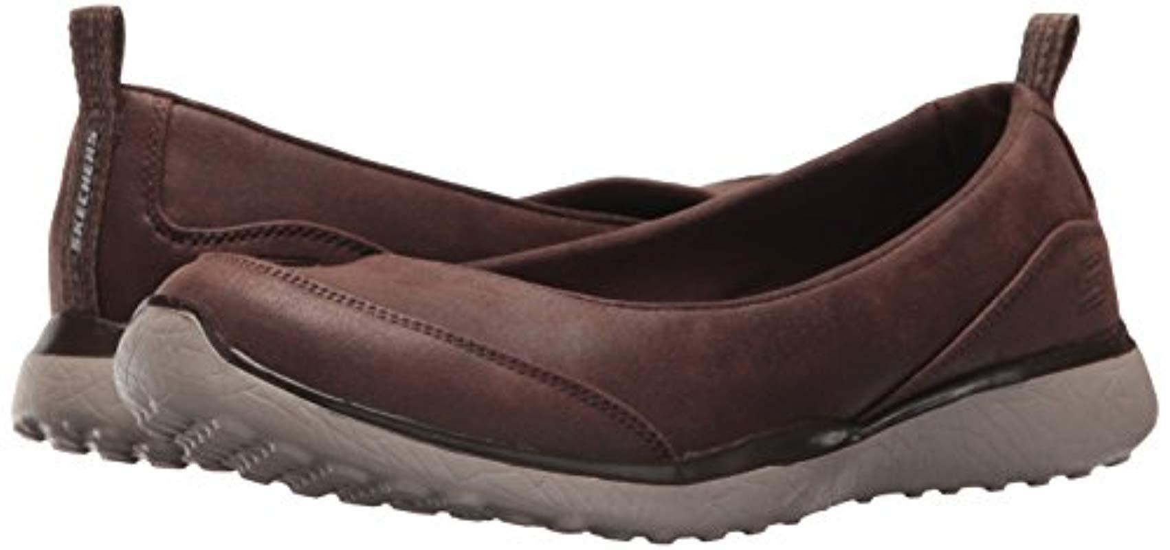 Skechers Microburst Lightness Sneaker in Brown