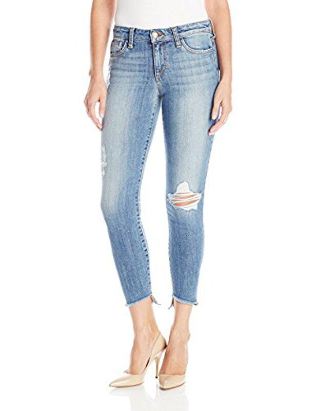 Joes Jeans Womens Blondie Icon Midrise Skinny Ankle Jean